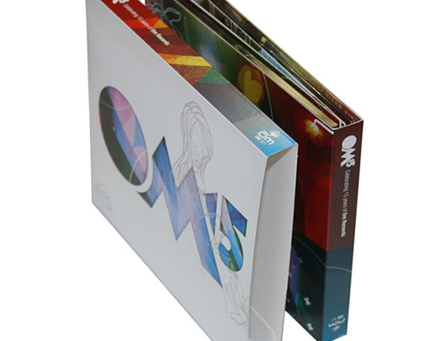 With Custom O-Cards & Slipcases